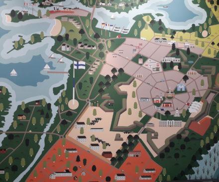 Kaupungin piirroskartta