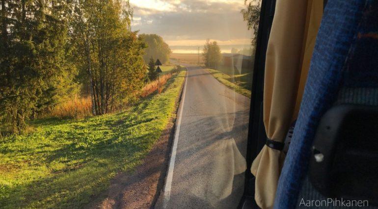 Bussi, linja-auto sisäkuva