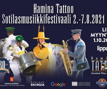 Hamina Tattoo 201 ilmoitus lipunmyynnistä