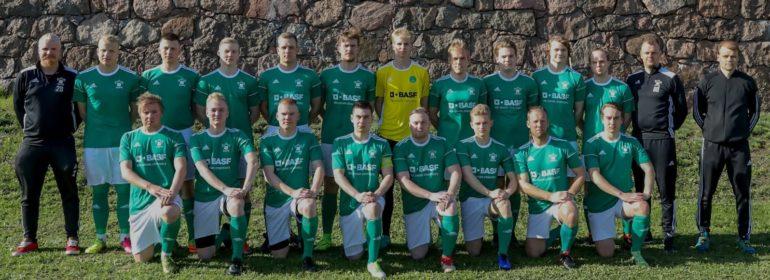 HaPKin edustusjoukkue vuodelta 2019, pelaajat kuvassa kahdessa rivissä.
