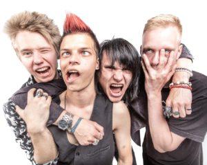 Rock Criminals yhtyeen neljä jäsentä.